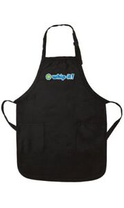 Whip It Apron Black Promotional Brand New