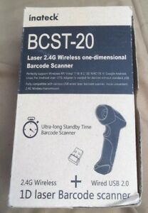 Inateck Bcst 20 Laser 2 4g Wireless instant Shipping Barcode Scan