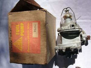 1949 1951 Lincoln Carborator And Fuel Pump