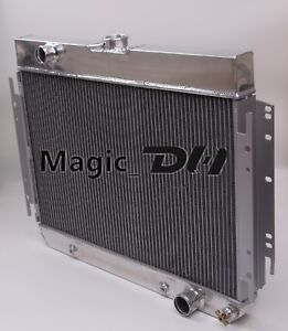 3 Row Aluminum Radiator Fit 1963 68 Chevy Impala Chevy Bel Air Caprice Chevelle