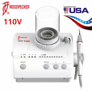 Usa Woodpecker Dental Ultrasonic Piezo Scaler Uds e Led 110v Fit Ems Ce Fda