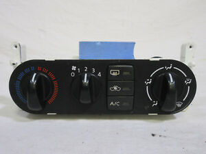 00 06 Nissan Sentra Climate Control W Heater And A C