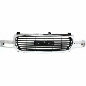 New For Gmc Yukon Sierra 1500 Grille Fit 2000 2006 Gm1200430 15082218 19130787