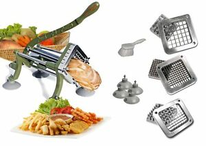 Tigerchef Tc 20562 Heavy Duty Potato French Fry Cutter Complete Set Commercial
