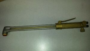 Nos Air Products And Chemicals Welding Cutting Torch Oxy acetylene Model 2492