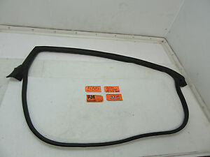 Fits 06 08 Eclipse Coupe Right Passenger Door Body Rubber Seal Weather Strip Car