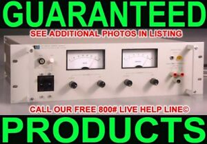 Hp Agilent 6274b 0 60v 0 15a Metered Variable Regulated Linear Dc Power Supply