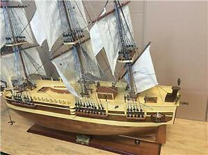 Tall Ship 39 Hms Bounty Wooden Model Large Scale Sail Boat New Fully Assembled