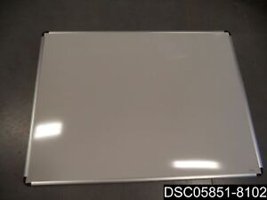 Universal One Porcelain Magnetic Dry Erase Board 48 X 36 White Unv43842