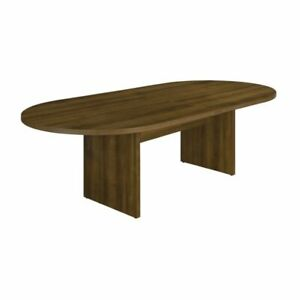 Flexsteel Fairplex 8 Race Track Extendable Conference Table In Walnut