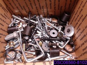 49 Lbs Mixed Lot Of Bolts Nuts Washers Lock Washers Many Types And Styles