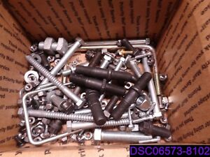 56 Lbs Mixed Lot Of Bolts Nuts Washers Lock Washers Many Types And Styles
