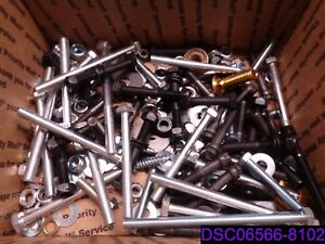 57 Lbs Mixed Lot Of Bolts Nuts Washers Lock Washers Many Types And Styles