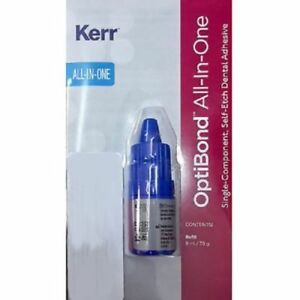 6 X Kerr Optibond All in one Self etch Dental Adhesive Bonding Agent 6ml 35129