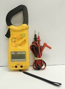 Uei Dl 90a Digital Clamp On Multi Meter Tester With Leads Free Shipping