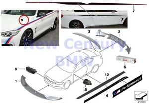 Bmw Genuine M Performance Motorsport Stripes On Left Right Film M Performance