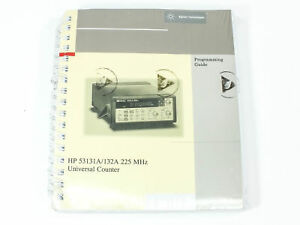 Hp 53131a 132a 225 Mhz Universal Counter Programming Guide