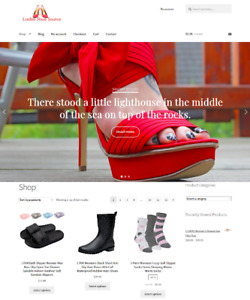 Shoesgloriousshoes biz Womans Shoes Website Business For Sale Domain Included