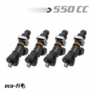 Blox Racing Eco Fi Street 550cc Fuel Injectors For Honda Acura B Series Engines
