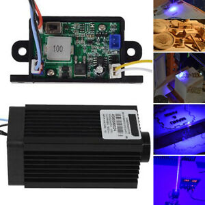 Focusable 450nm 5000mw 5w Blue Buner Laser Module laser Engraving Ttl Analog