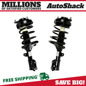 Front Complete Strut Coil Spring Assembly Pair 2 For 2003 2008 Hyundai Tiburon