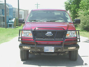 Ranch Hand Fsf04hbl1 on Sale Summit Series Front Bumper 04 05 Ford F 150