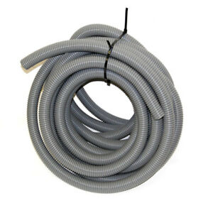 48 Feet Of Grey 1 25 I d Industrial Commercial Vacuum Cleaner Duct Hose