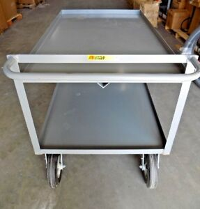 Little Giant Utility Cart Shelf Load Capacity 1500 54 L X 30 W Gl 3048 10sr