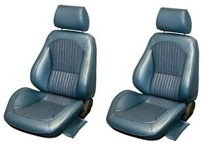 Standard Touring Ii Fully Assembled Seats 1969 Mustang Your Choice Of Color