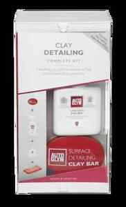 Autoglym Surface Clay Detailing Complete Kit Bar Lubricant Brand New