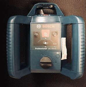 Bosch Grl 240 Hv 800 Ft Self Leveling Rotary Laser Level And Remote Lr24 Used