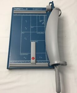 New Dahle 561 Premium Guillotine Paper Cutter 14 125 Cutting Lengths Commercial