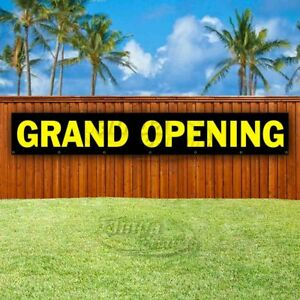 Grand Opening Advertising Vinyl Banner Flag Sign Large Huge Xxl Sizes Usa
