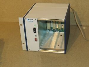 National Instruments Ni Scxi 1000 4 Slot Chassis et
