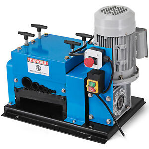 9 Channel 13 Blade Wire Stripping Machine Solid Structure 2hp 22awg 1 1 2 od