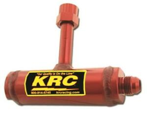 Kluhsman Racing Components Single Fuel Director Aluminum Red Anodized Holley2300