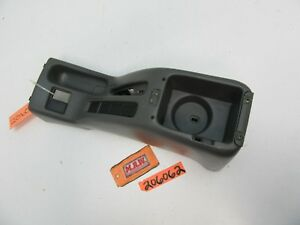 2002 02 Esteem Center Console Cup Holder Base Rear Between Front Seat Car Floor