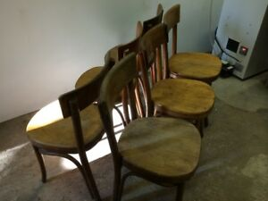 Vintage Thonet Bentwood Chairs