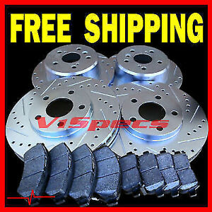 Fits Vw Golf Gti 85 86 87 88 89 90 91 92 Rotors Metallic Pads F R