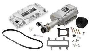 Weiand Supercharger System Roots 177 Series Satin Chevy Big Block Oval Port Kit