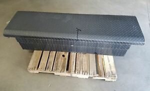 Aftermarket Tractor Supply Co Diamond Plate Tool Box Black Off 09 Ford F150 Lkq