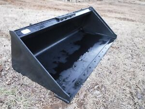 Bobcat Skid Steer Attachment 66 Low Profile Smooth Bucket Ship 199