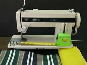 Portable Leather Upholstery Heavy Duty Walking Foot Sewing Machine Free Extras