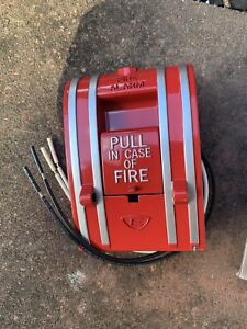 Lot Of 2 Edwards 270a spo Fire Alarm Pull Station Metal Body Non coded