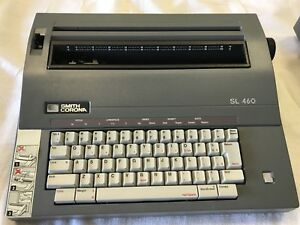 Smith Corona Sl460 Electric Portable Typewriter Tested Working