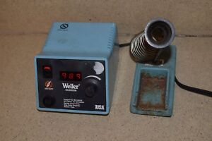 Weller Ec2002m Soldering Station W Soldering Iron Holder tr