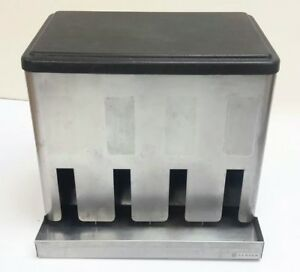 Server Condiment Caddy Rack Organizer Dispenser For Packets Stainless Steel Nsf