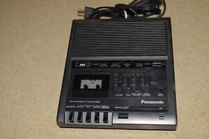 Panasonic Model Rr 930 Microcassette Transcriber