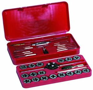 Century Drill 98912 Metric Tap And Die Set 40 piece