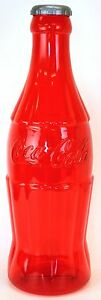 LARGE  23 Inch RED Coke Coca Cola Bottle Bank Great Gifts NEW! Fast Ship
